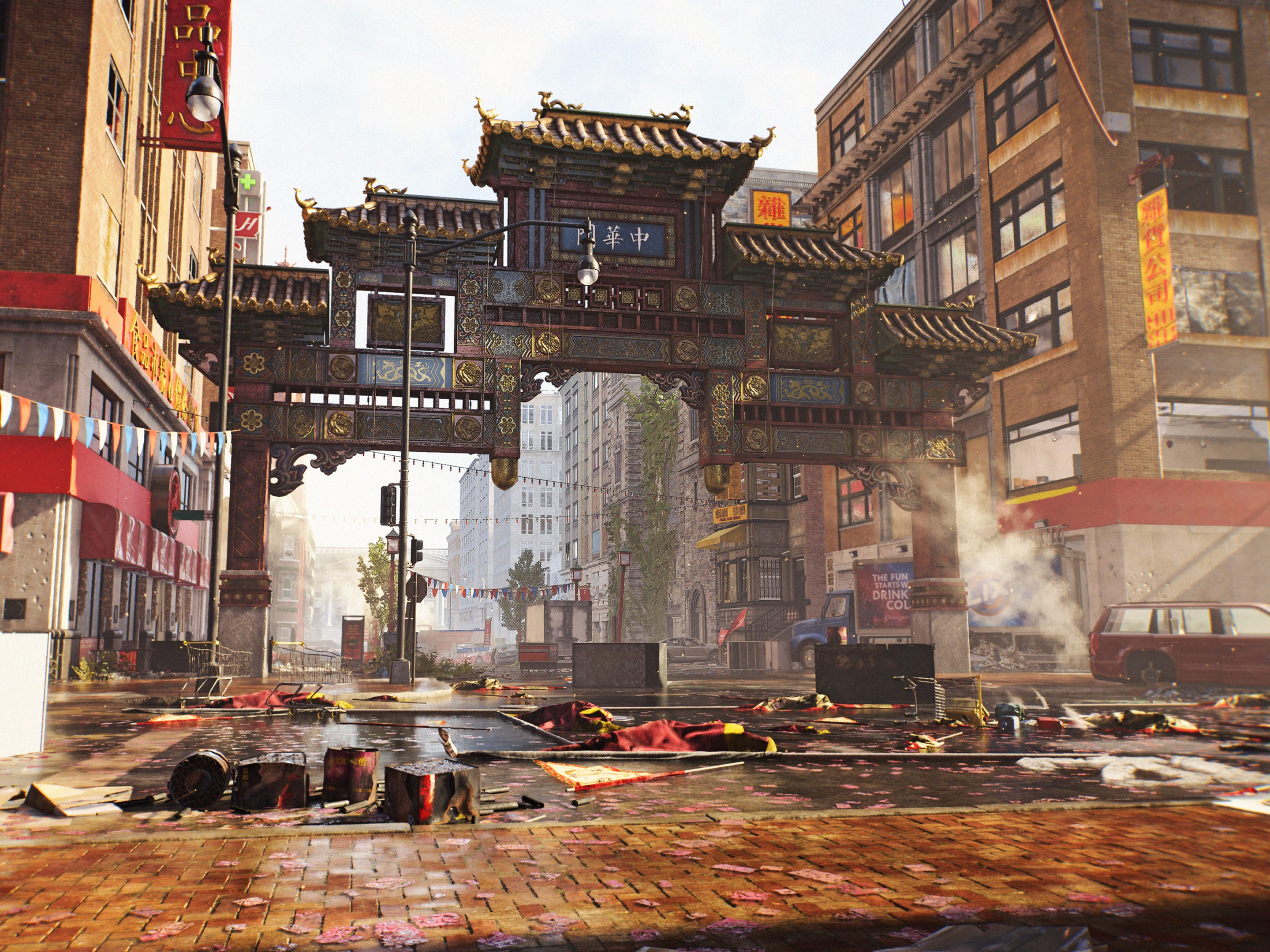 A new video game from Ubisoft, 'The Division 2,' puts players in a ramshackle version of Washington, D.C., which has been decimated by a virus.