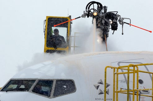 Whenever a major storm is forecasted, out come the de-icing crews and travel waivers.