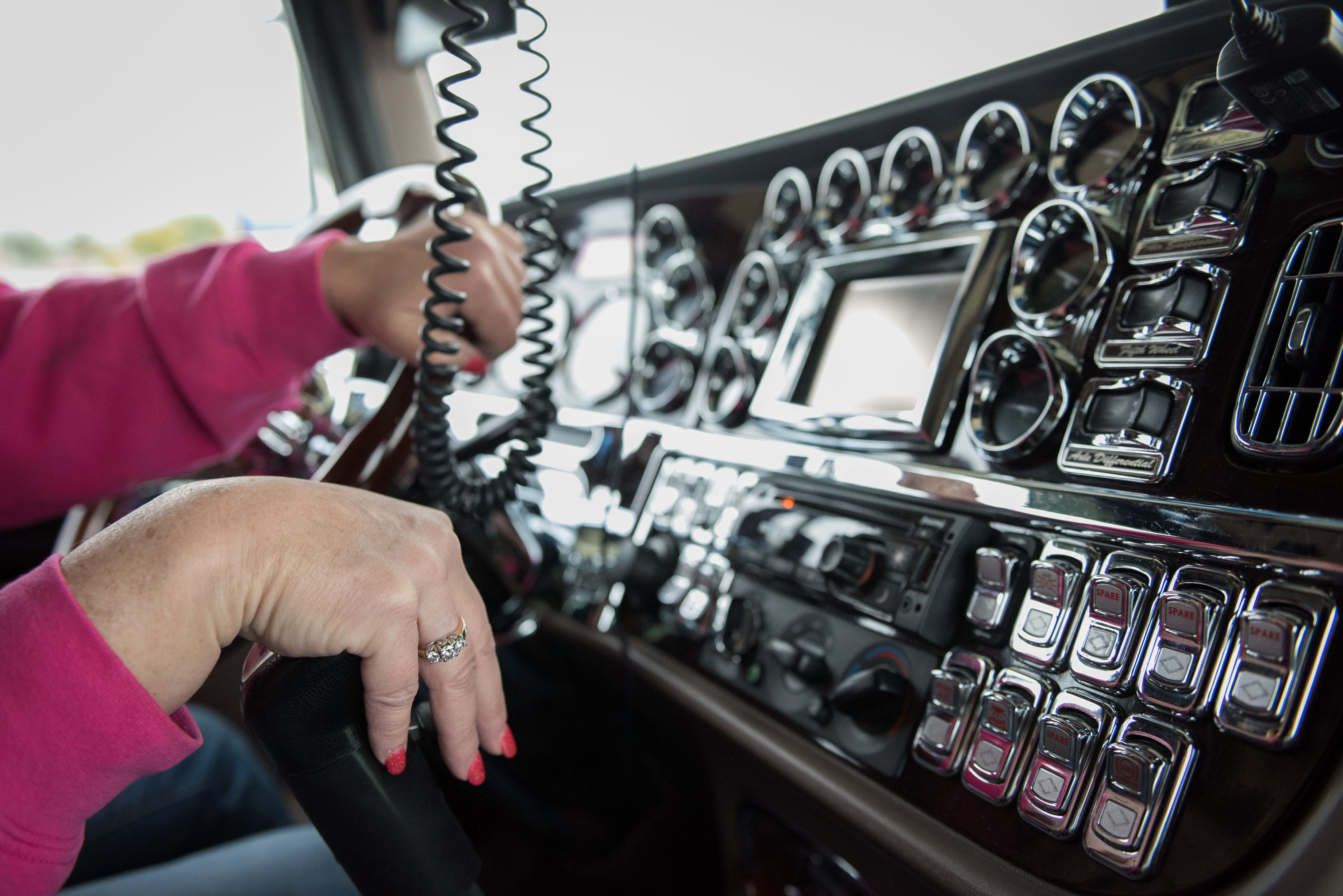 7b6599e09 Women are changing trucking, 'my steering wheel has no clue what gender  holds it