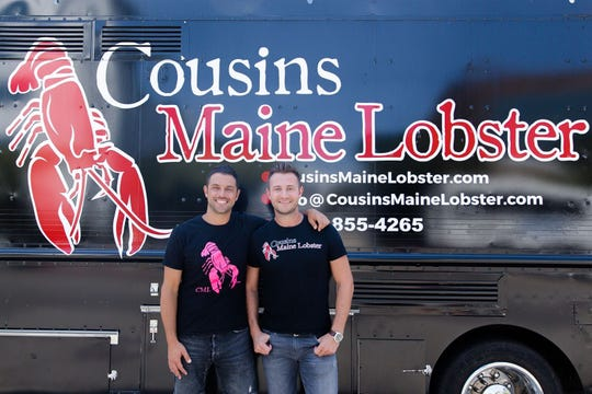 Cousins Maine Lobster, which nabbed the Fan Favorite title at last year's event, is the culinary offspring of real-life cousins Jim Tselikis and Sabin Lomac.