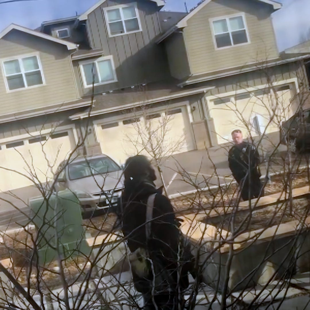 Cop who drew gun on black man picking up trash in his own yard placed on administrative leave