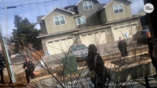 Video captured a confrontation between officers and a man who was picking up trash on his own property in Boulder, Colorado.