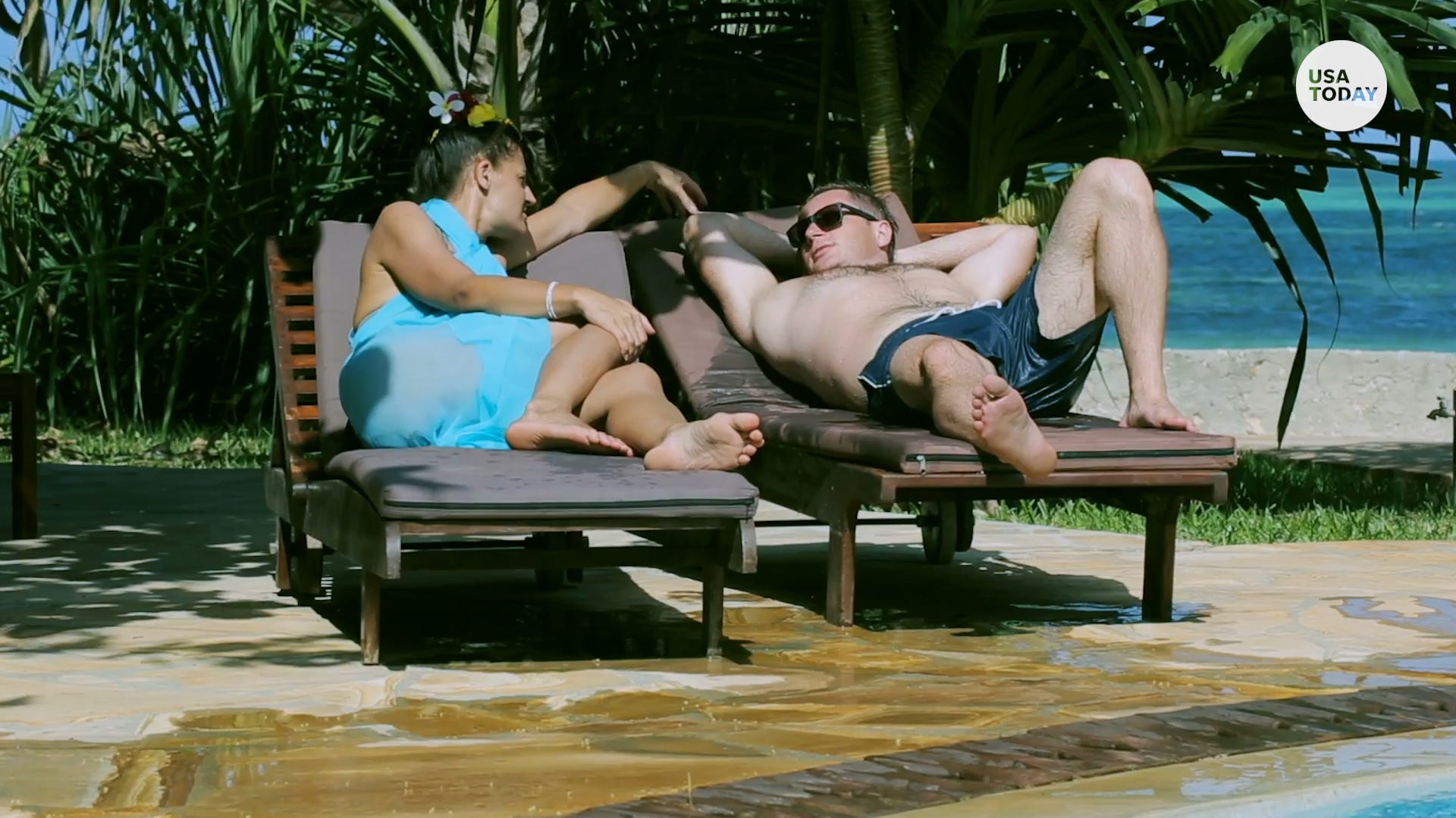 Snagging a hotel pool chair could cost you