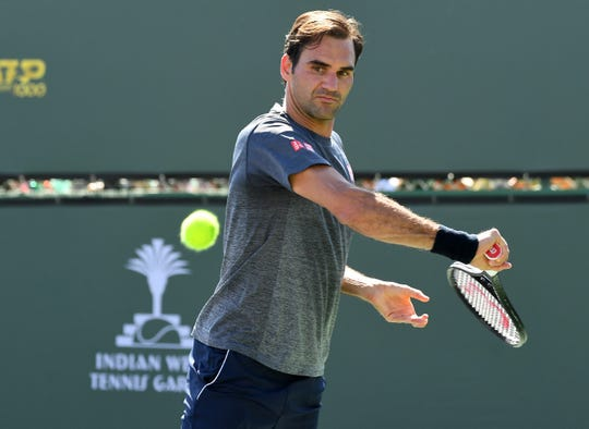 Roger Federer will play back-to-back tournaments in the USA with the BNP Paribas Open in Indian Wells, Calif., followed by the Miami Open.