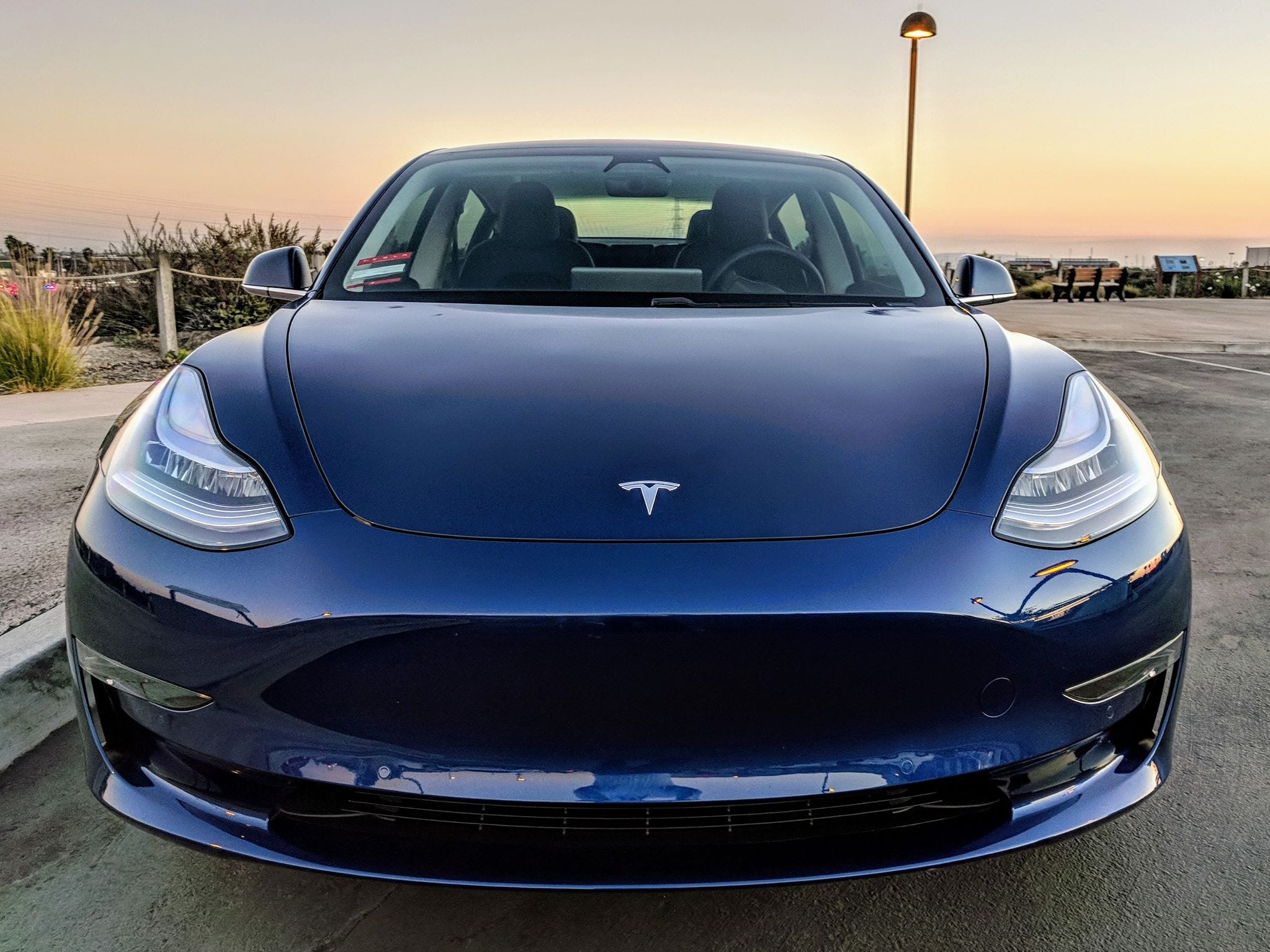 Tesla owners love sharing photos of their cars. We invited drivers across social media to send us their favorite shots.    Tom Moloughney, who runs a Tesla Model 3 Facebook group with nearly 41,000 members, shared a shot of the car he test drove. He was a first-day reservation holder.