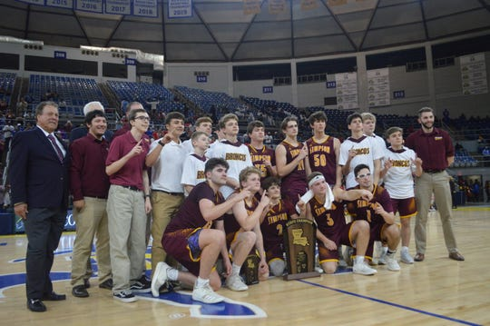 The Simpson Broncos won their first title Friday against Summerfield in the Class C championship game.