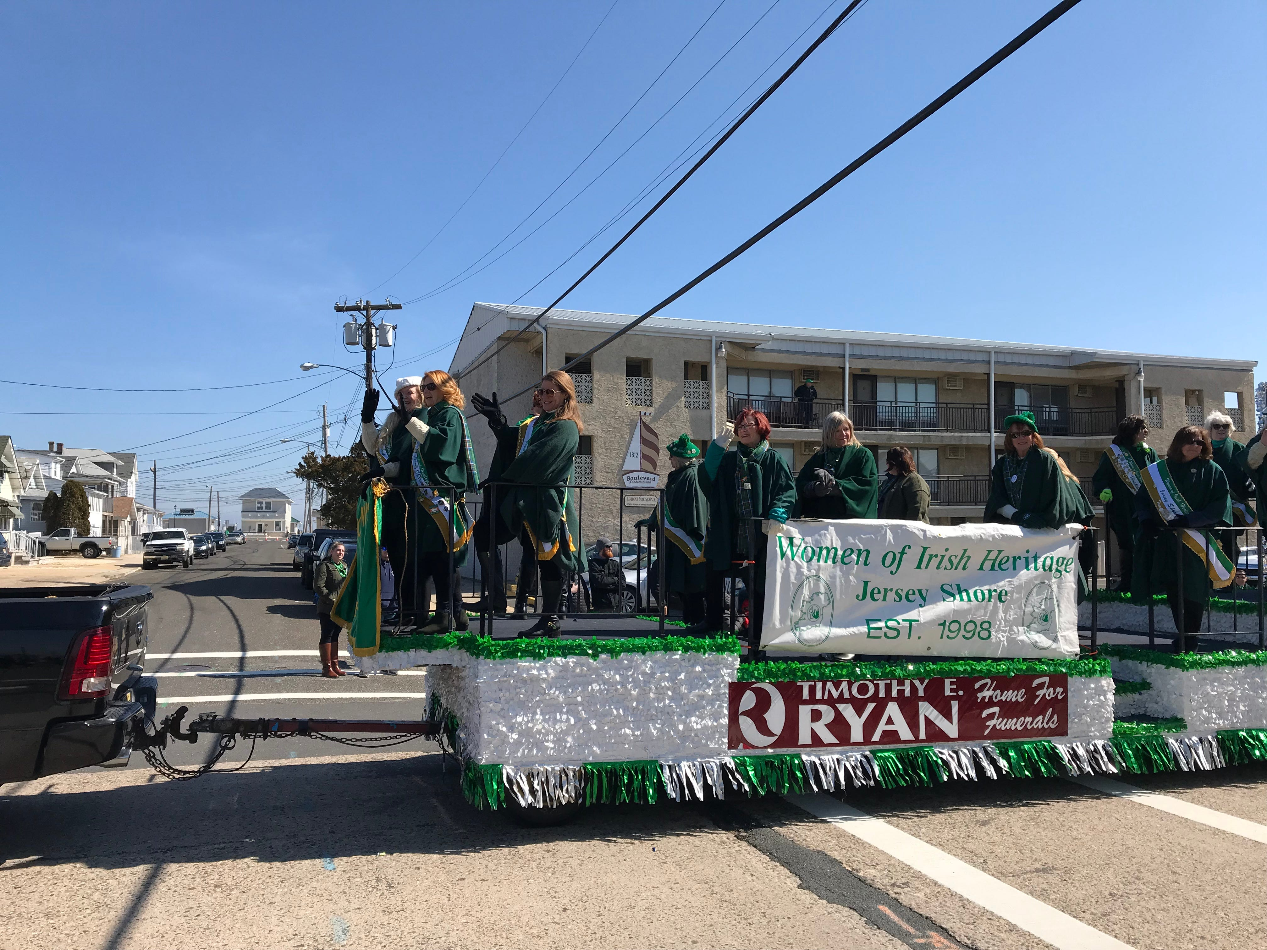 Crowds celebrated all things Irish as they lined the streets of Seaside Heights Saturday for the annual Ocean County St. Patrick's Day Parade.