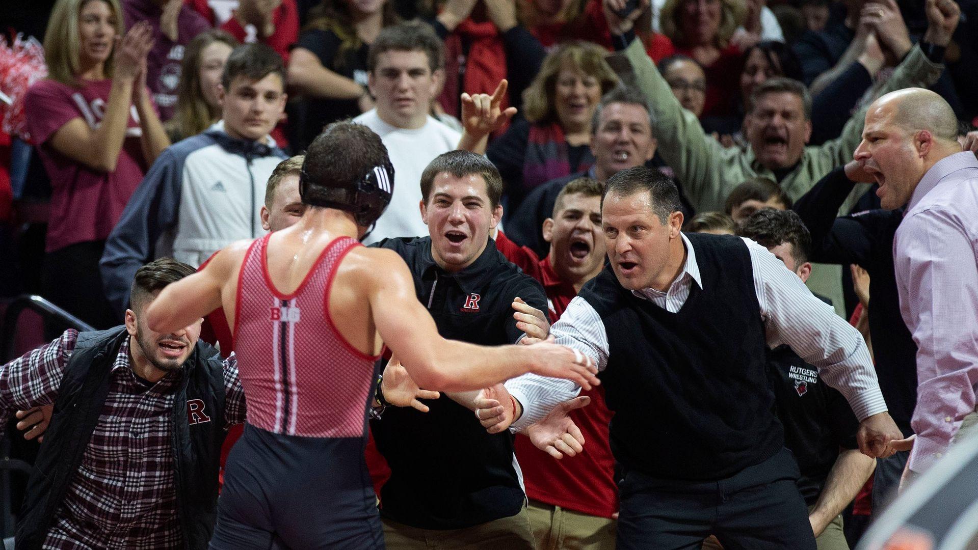 College Wrestling: Anthony Ashnault, Nick Suriano capture Big Ten  championships