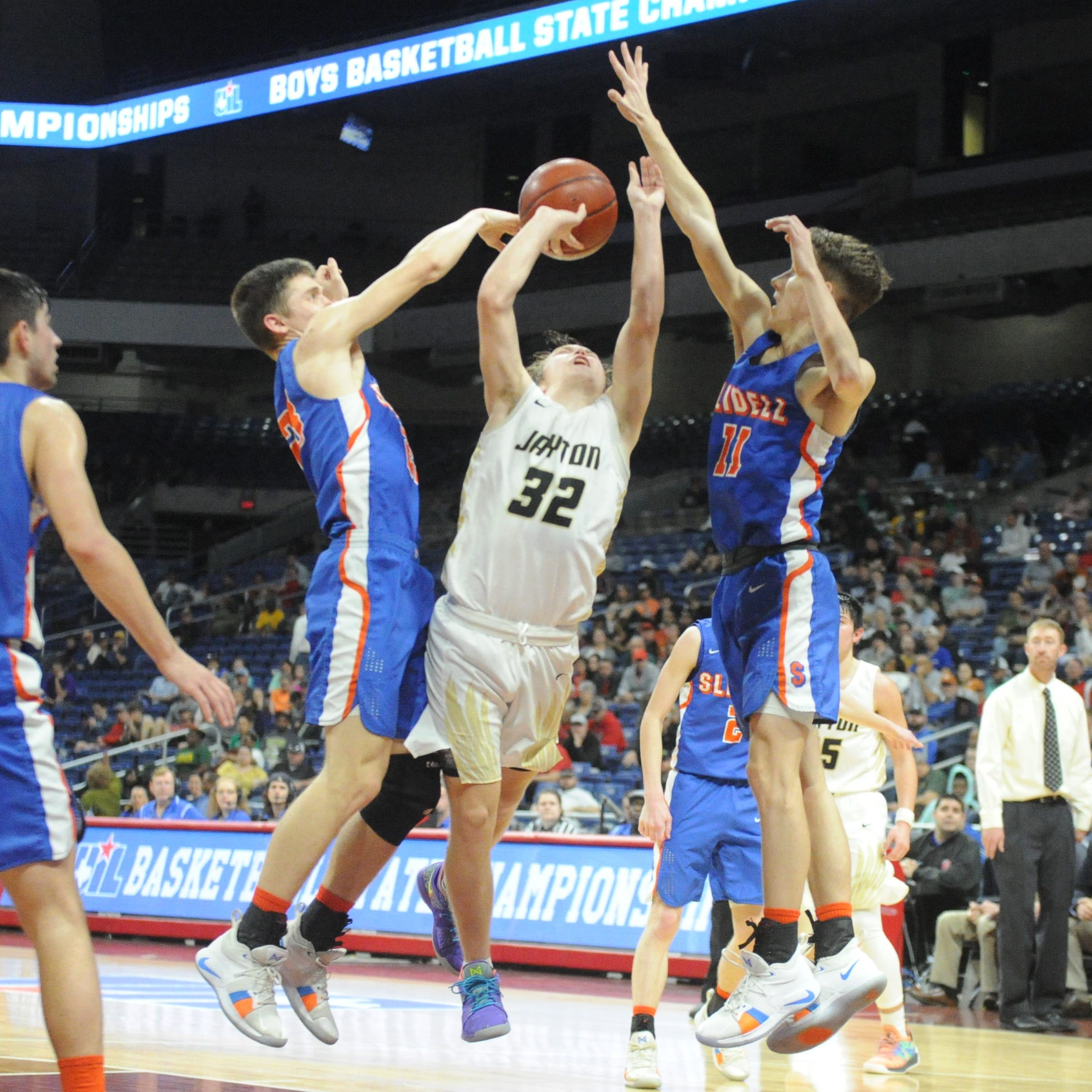 Slidell denies Jayton in Class 1A boys basketball state championship