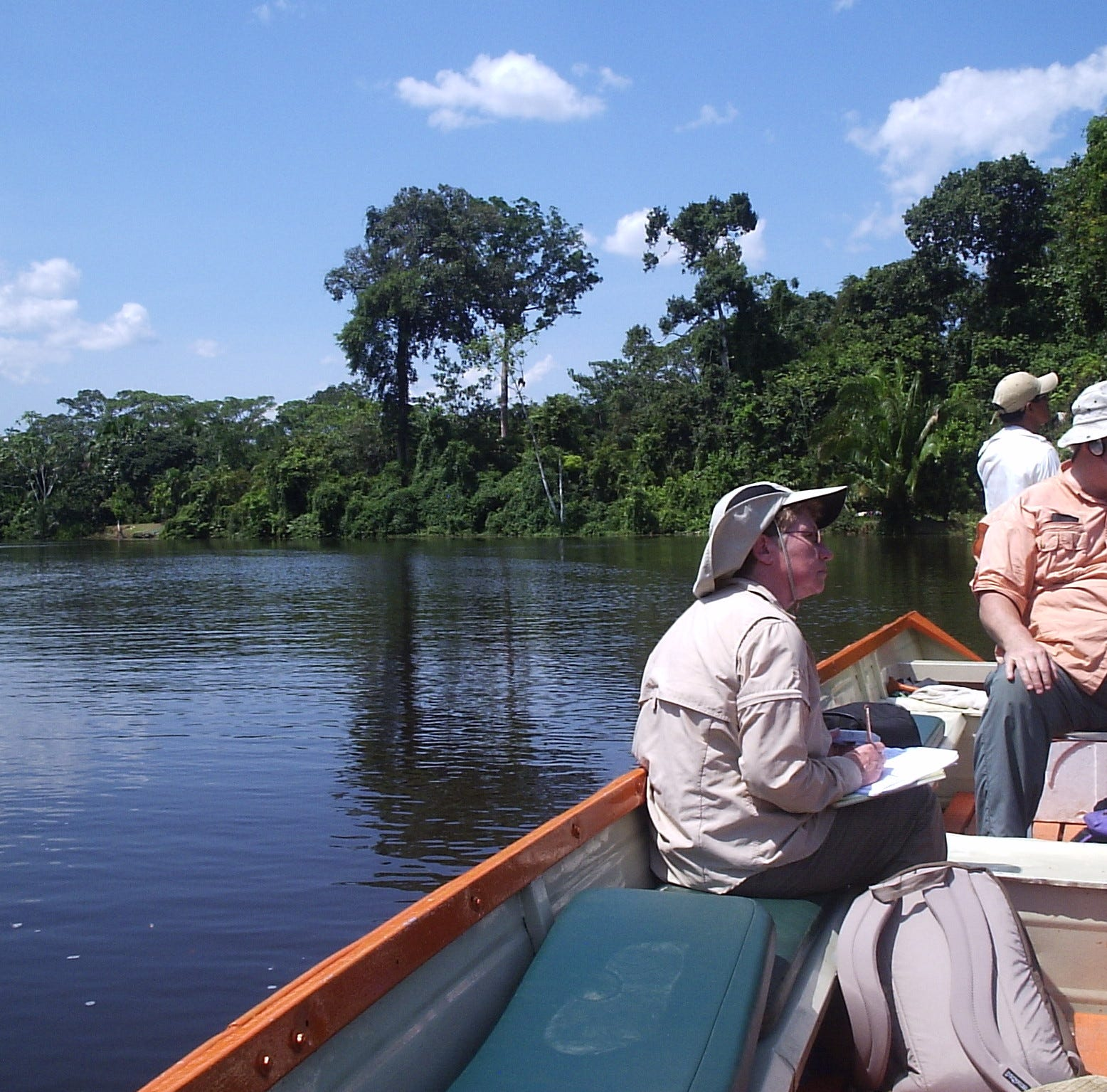 "Silverdale ""citizen scientists"" travel to the Amazon to study pink river dolphins"