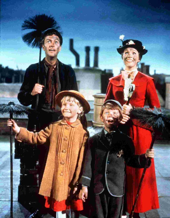 """The Disney classic """"Mary Poppins"""" screens March 15 at the Admiral Theatre in Bremerton."""