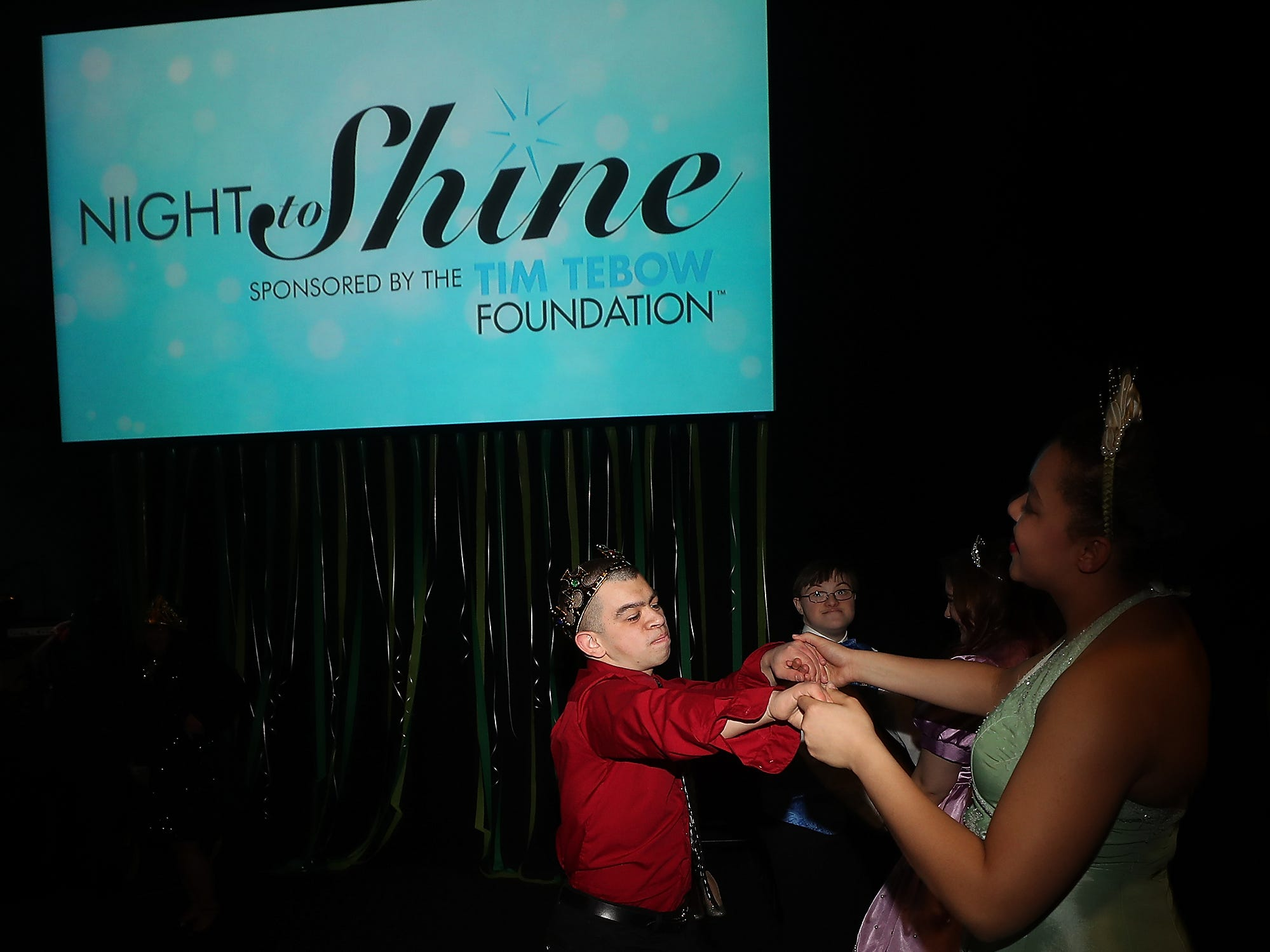 Night To Shine at the newlife Training & Events Center in Silverdale on Friday, March 8, 2019.