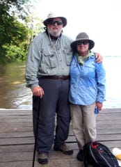 """Citizen scientists"" Dave and Dottie Bonnett have traveled to the Amazon almost every year for the last two decades to record a species of river dolphin."