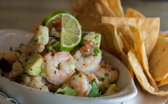 You can get a variety of seafood and Italian-style dishes at Seafood and Spaghetti Works in Port Aransas.