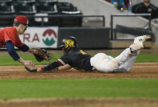 Incarnate Word and St. John Paul II play in a game, Thursday, March 7, 2019, at Whataburger Field.