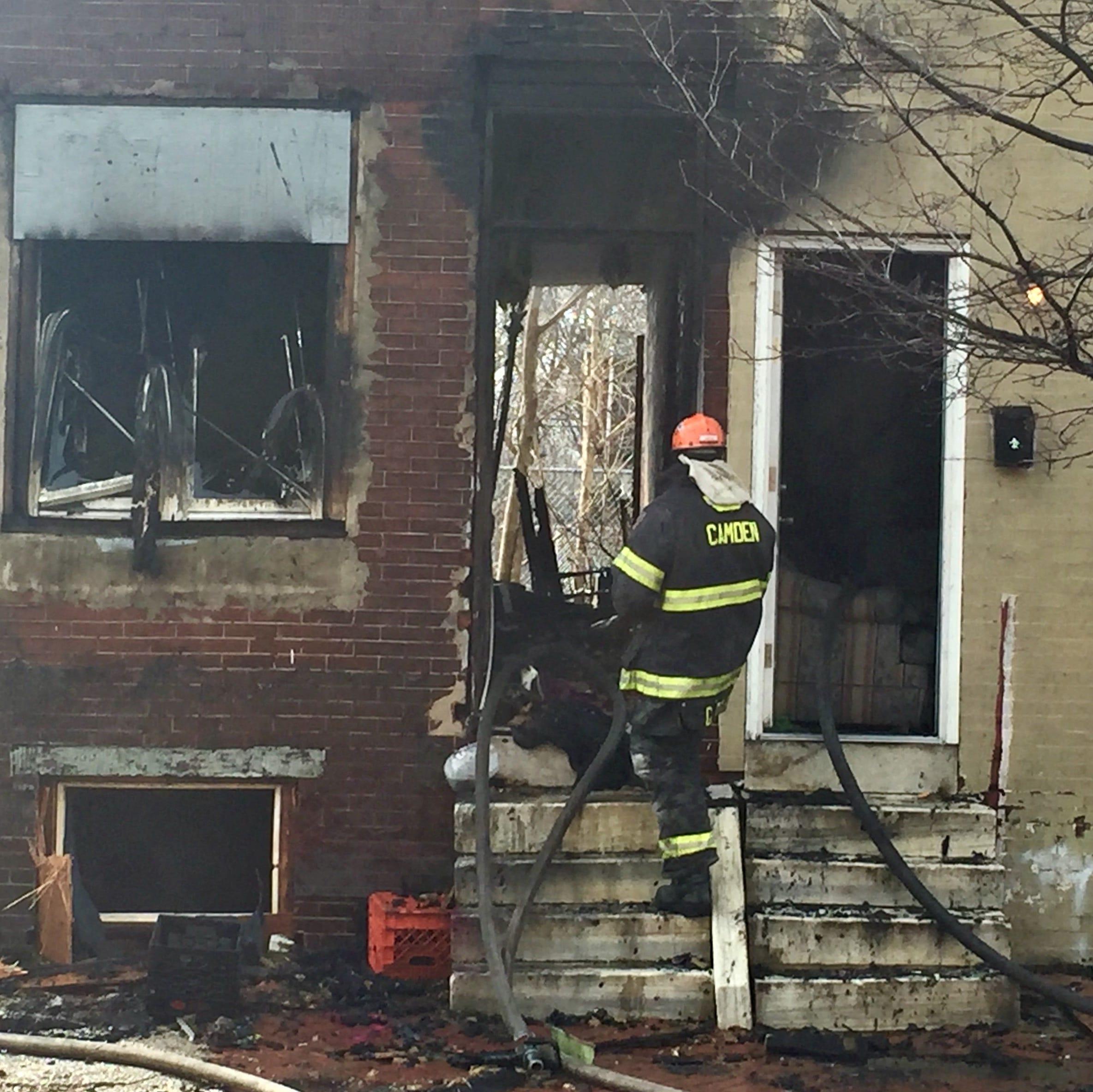 Fires strike homes in Camden, Gloucester Township