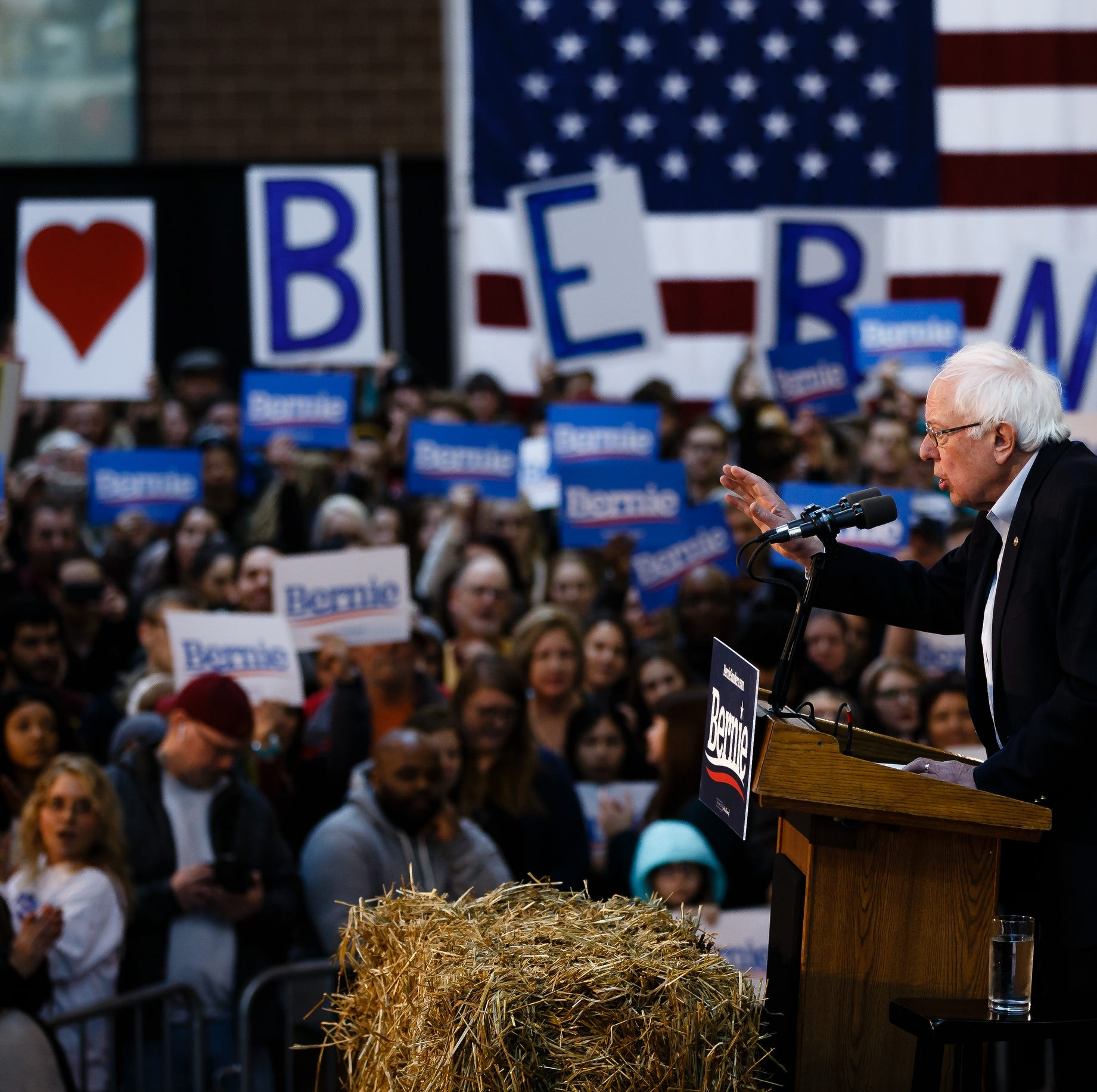 Bernie Sanders: I'll fight for farmers against powerful agribusiness