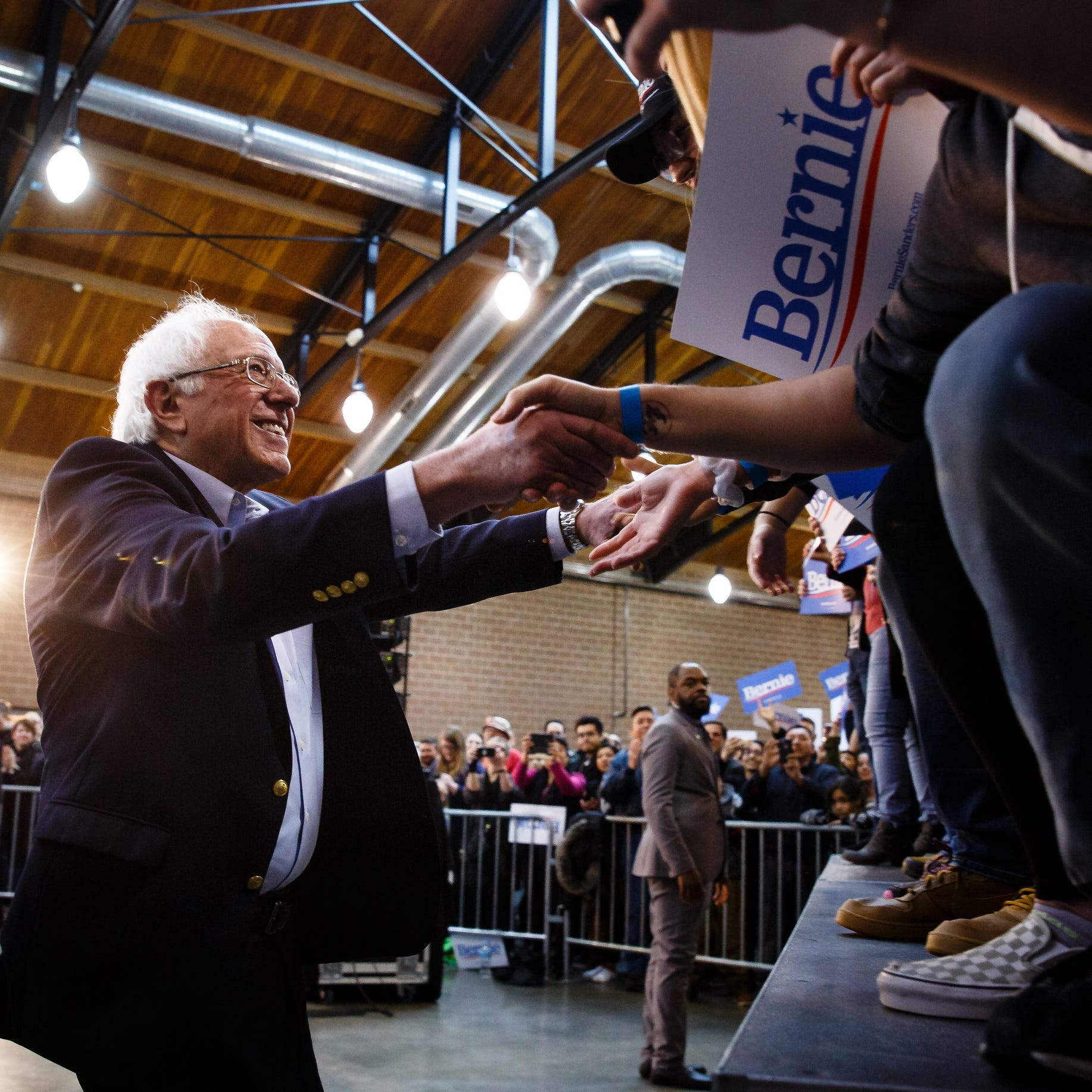 Iowa caucuses 2020: Bernie Sanders hires first Iowa staffers