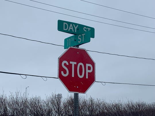 The intersection of Day and 11th streets in Des Moines is near the scene of an early-morning homicide March 9, 2019.