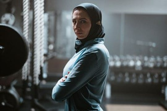 Rahaf Khatib, who has run 11 marathons, was featured in the clip that aired in time for International Women's Day.