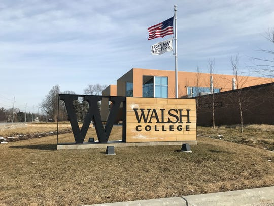 Walsh College students participated in the Adrian Project on Saturday at their Troy campus.