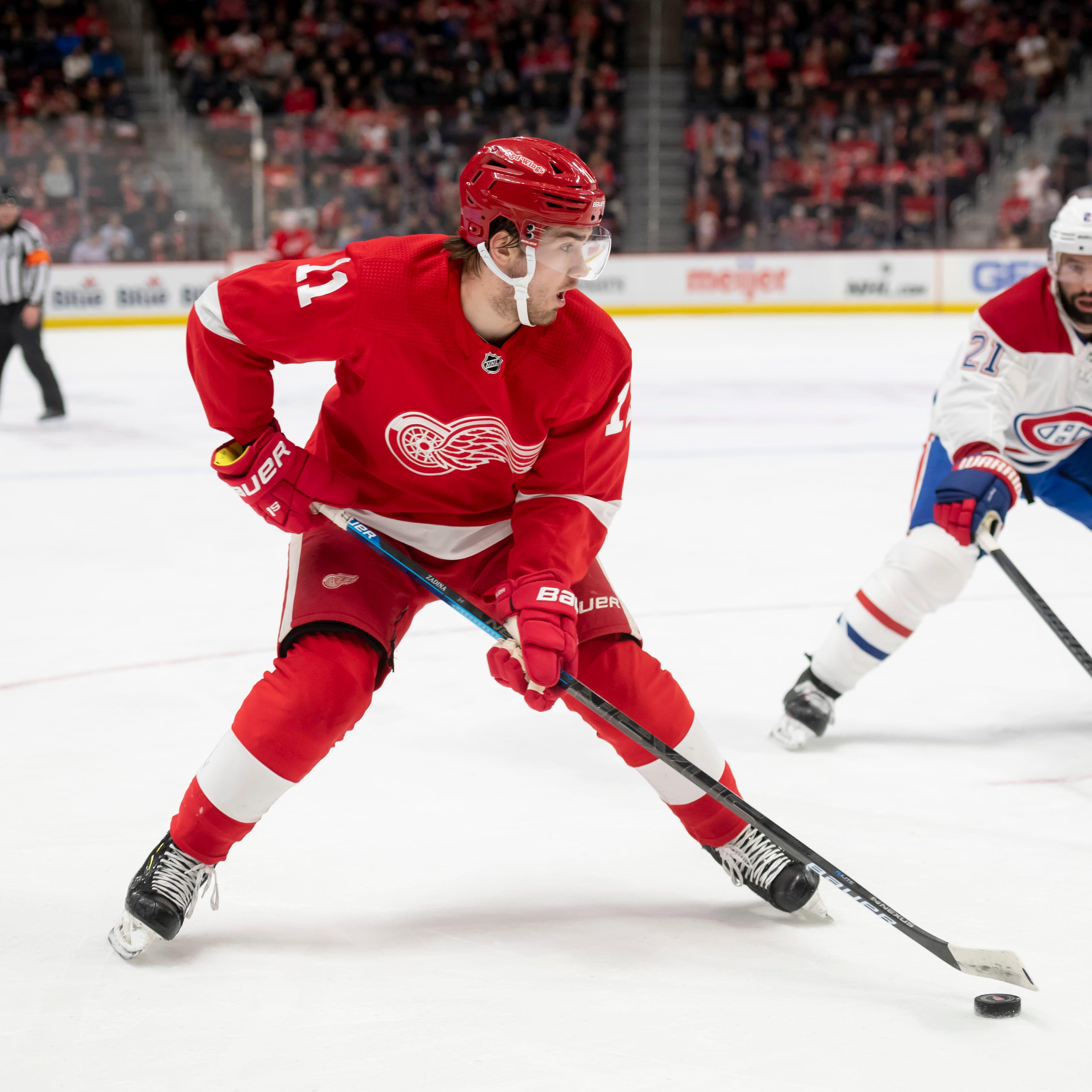 Red Wings hopeful Filip Zadina can pattern game after Tampa Bay star Nikita Kucherov