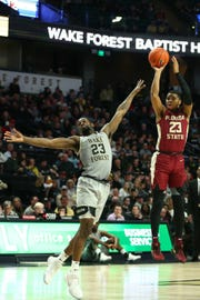 Florida State sophomore guard M.J. Walker scored six points during the Seminoles 65-57 victory over Wake Forest on Saturday at Lawrence Joel Coliseum.