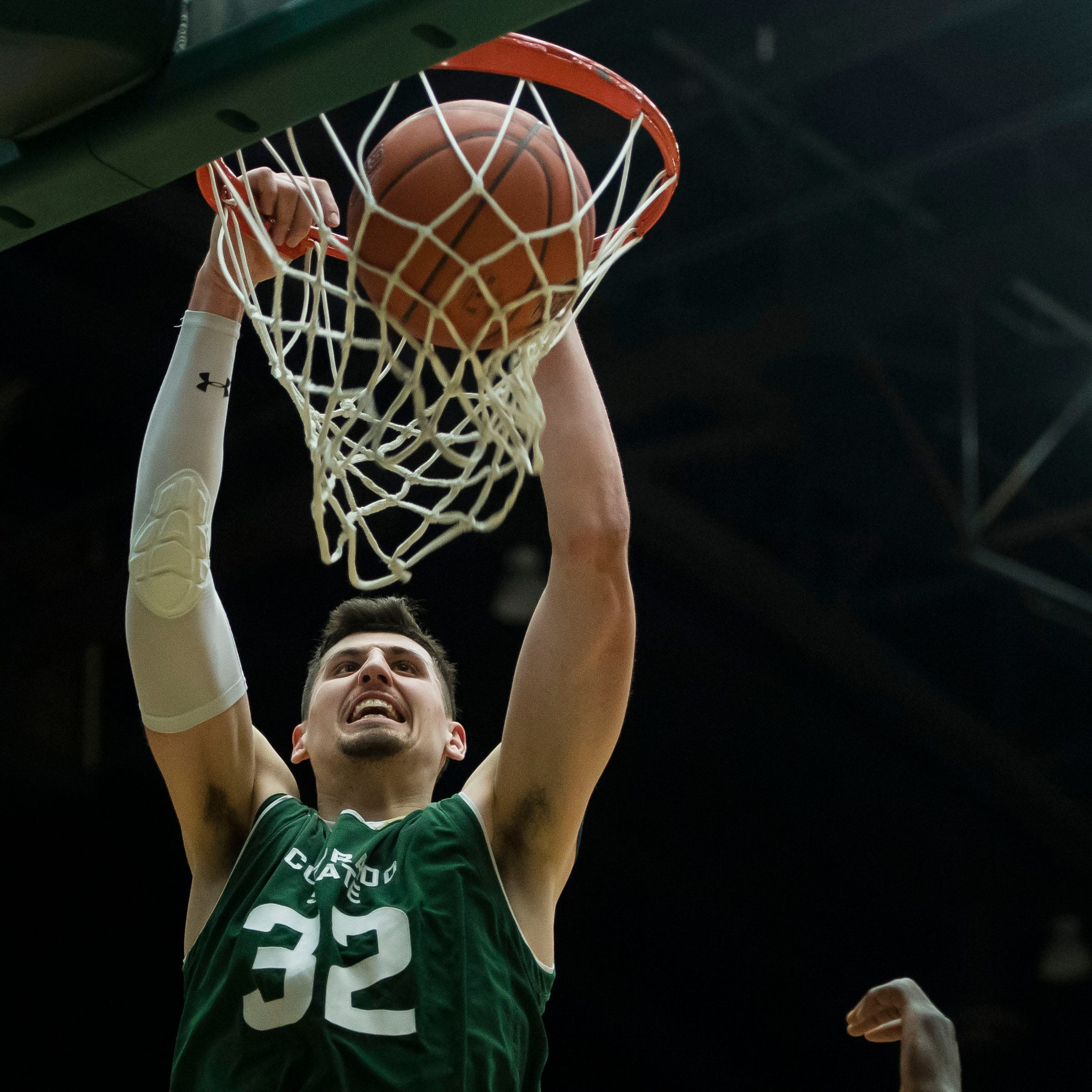 Colorado State's Nico Carvacho named all-Mountain West by the league's media members