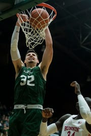 CSU junior center Nico Carvacho was voted first-team all-conference by the Mountain West media.