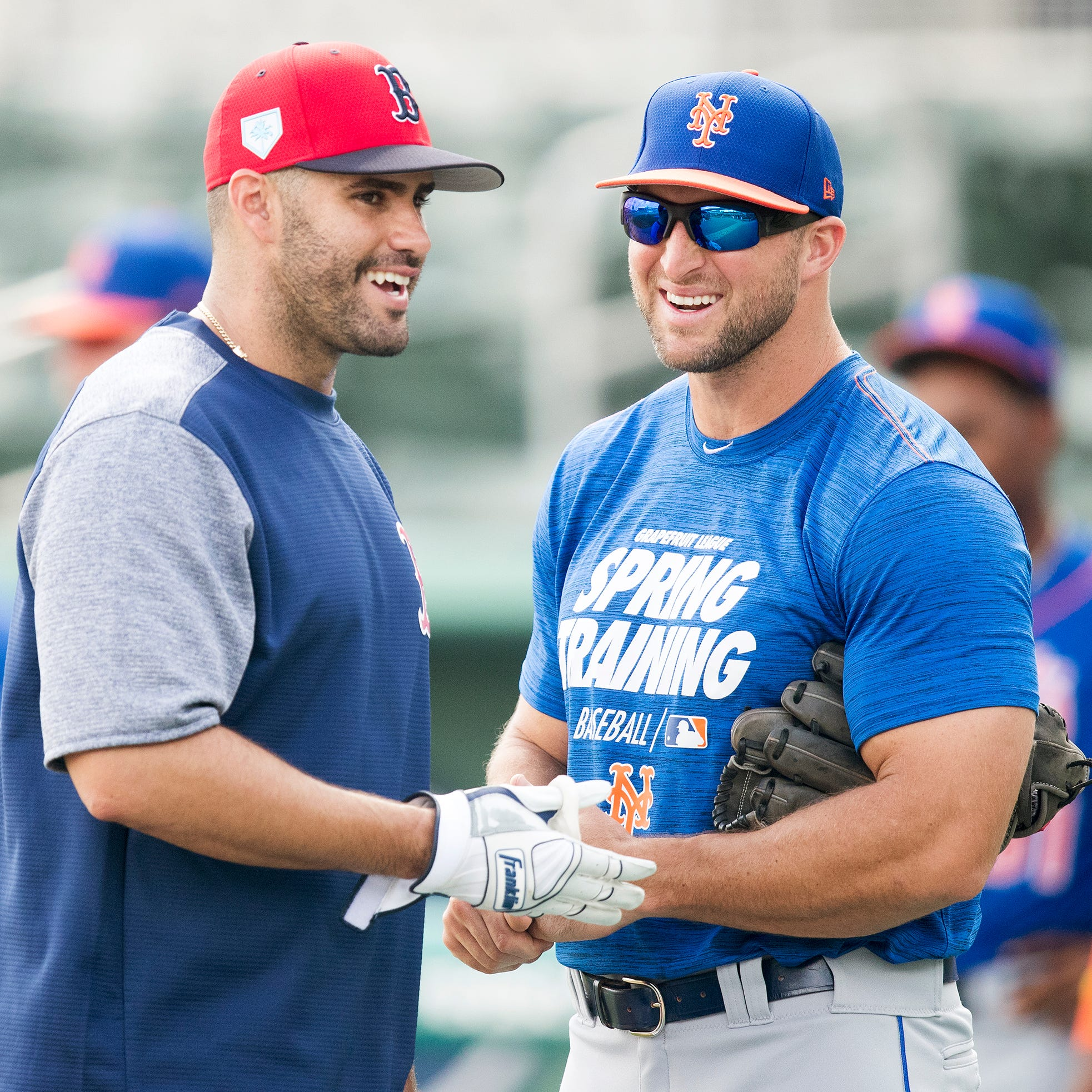 Former Gators football star Tim Tebow continues baseball journey with Mets at JetBlue Park