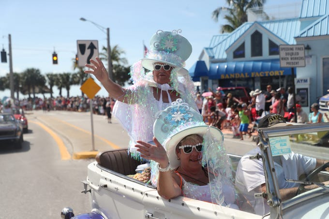 Thousands attended the 61st annual Fort Myers Beach Shrimp Festival and Parade on Fort Myers Beach on Saturday 3/9/2019