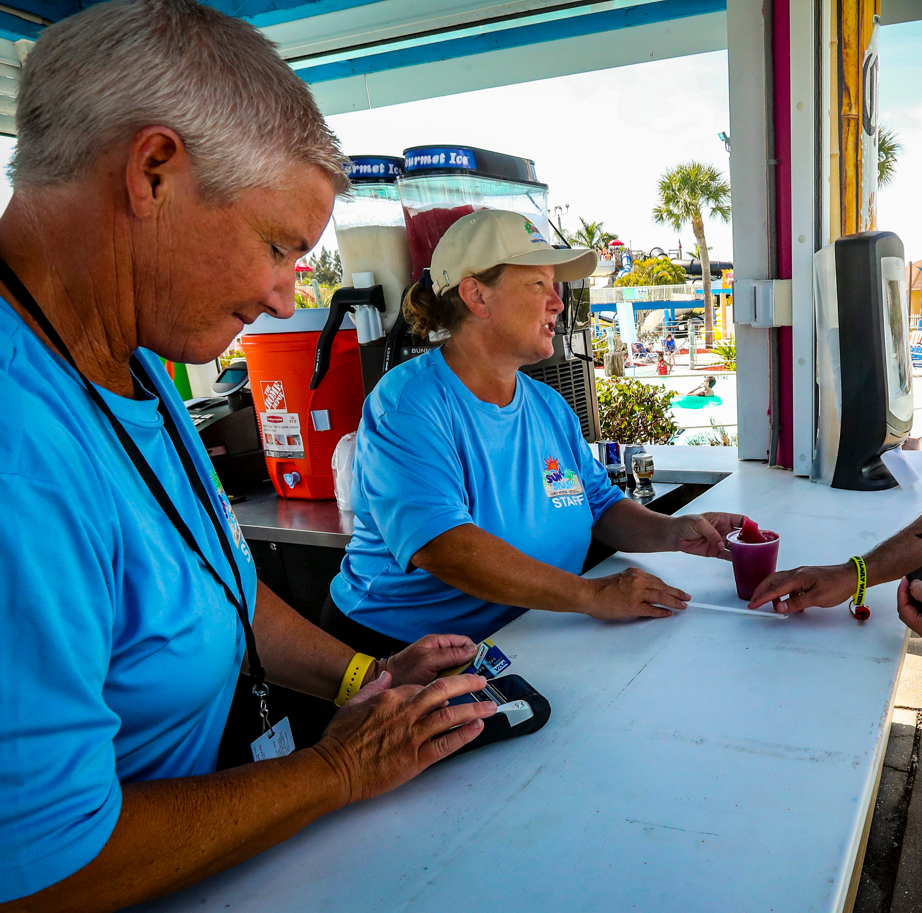 Smooth sailing for first day of alcohol sales at Sun Splash