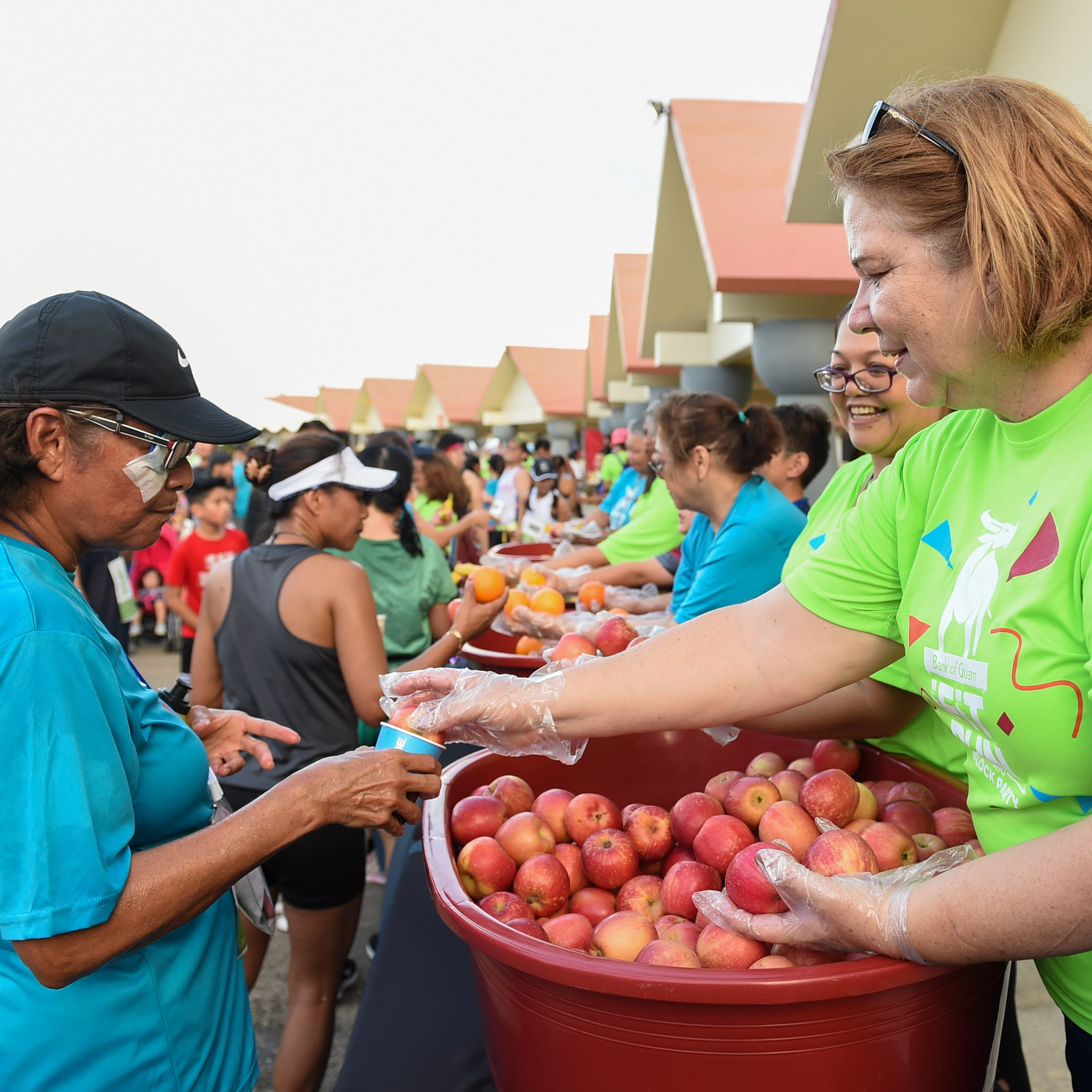 Bank of Guam Ifit Run and Block Party draws runners and residents to Hagåtña