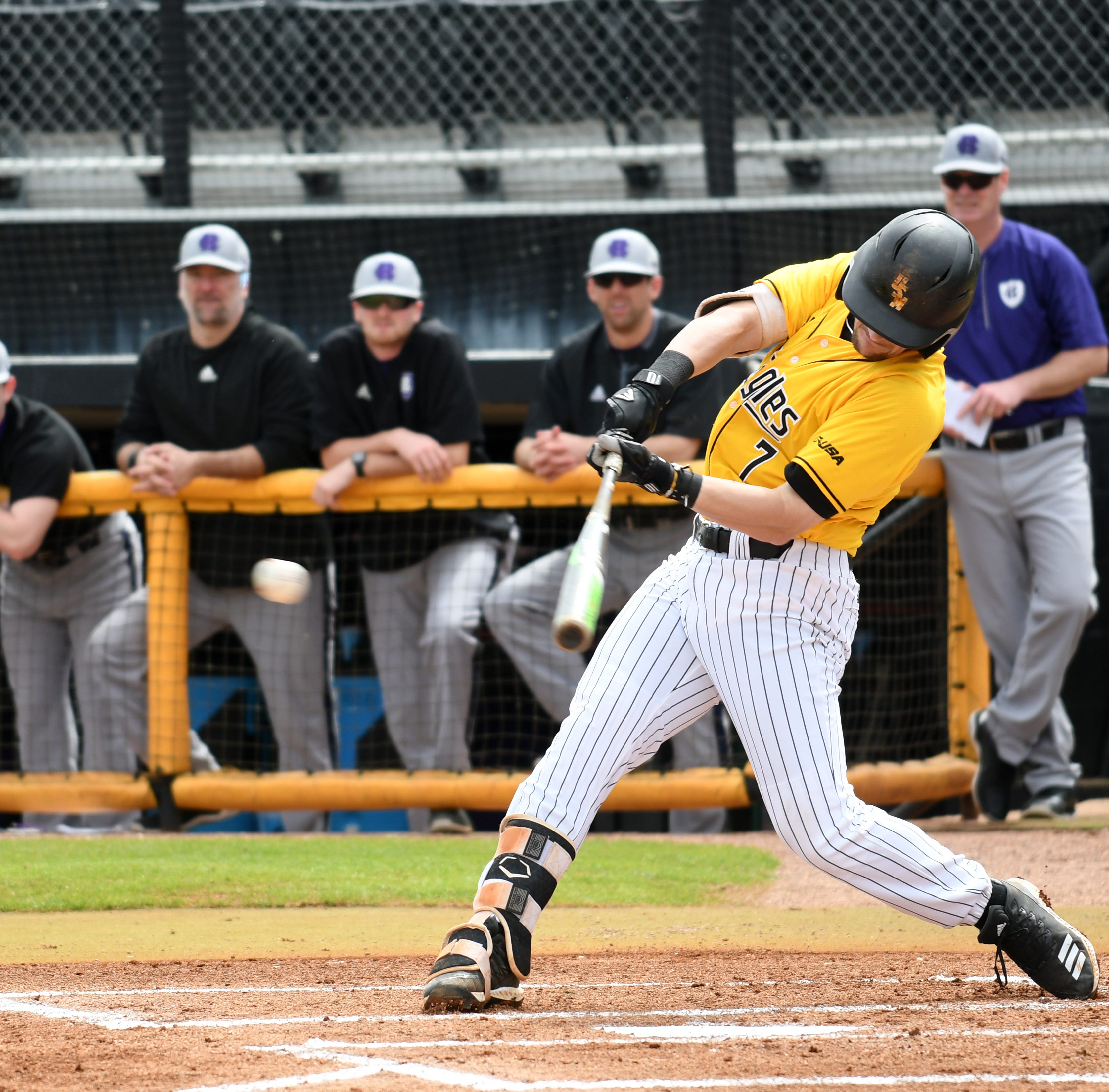 Southern Miss baseball rallies late to beat Louisiana-Monroe, 5-4