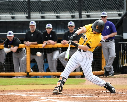 Southern Miss baseball rallied late to defeat Louisiana-Monroe 5-4 on Tuesday night in Monroe.