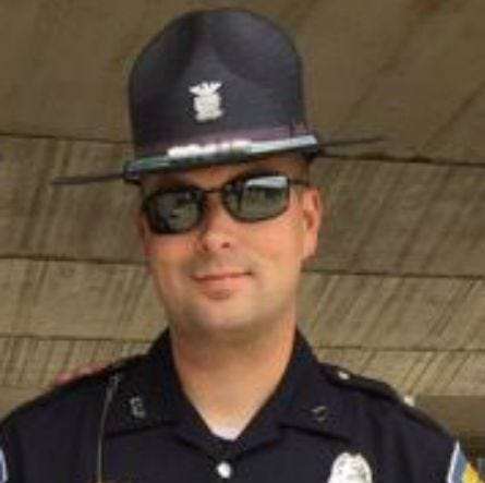 Indiana state trooper fired over relationship with 17-year-old girl