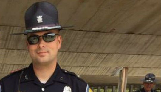 Former Indiana State Police trooper Ryan Starnes was fired on Feb. 28, 2019, for conduct unbecoming an officer.