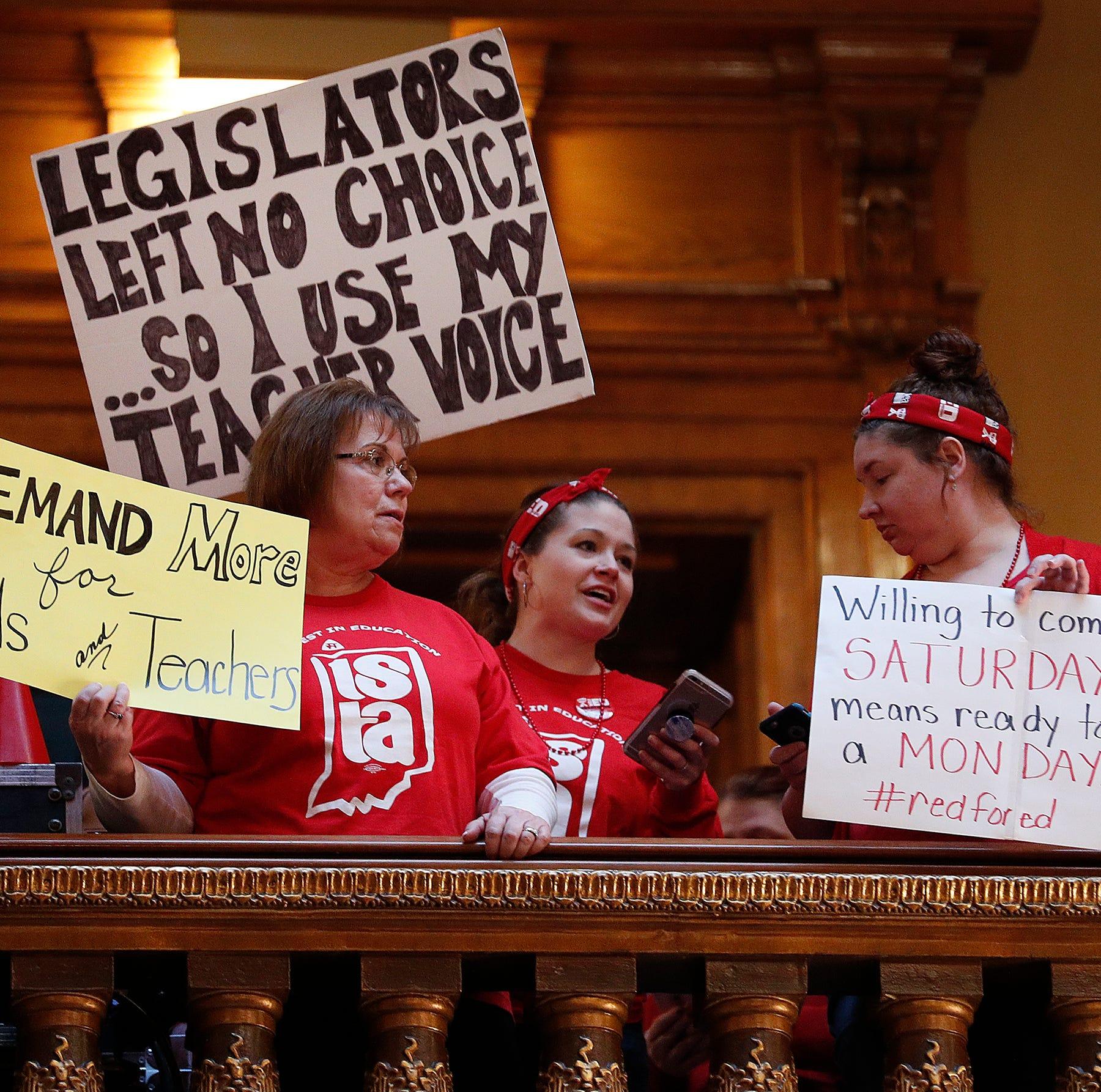 Letters: Hoosier teachers deserve fair compensation