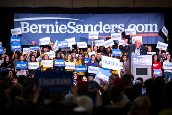 Hear remarks from Sen. Bernie Sanders, I-VT, on his grass roots campaign and a plan to defeat Donald Trump, March 8, 2019, in Iowa City, Iowa.