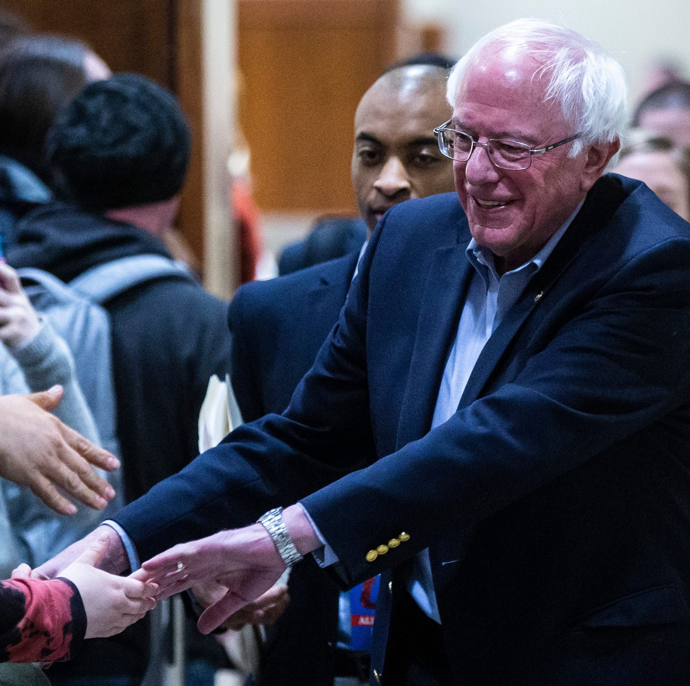Bernie Sanders comes to the University of Iowa to rekindle 2016 burn