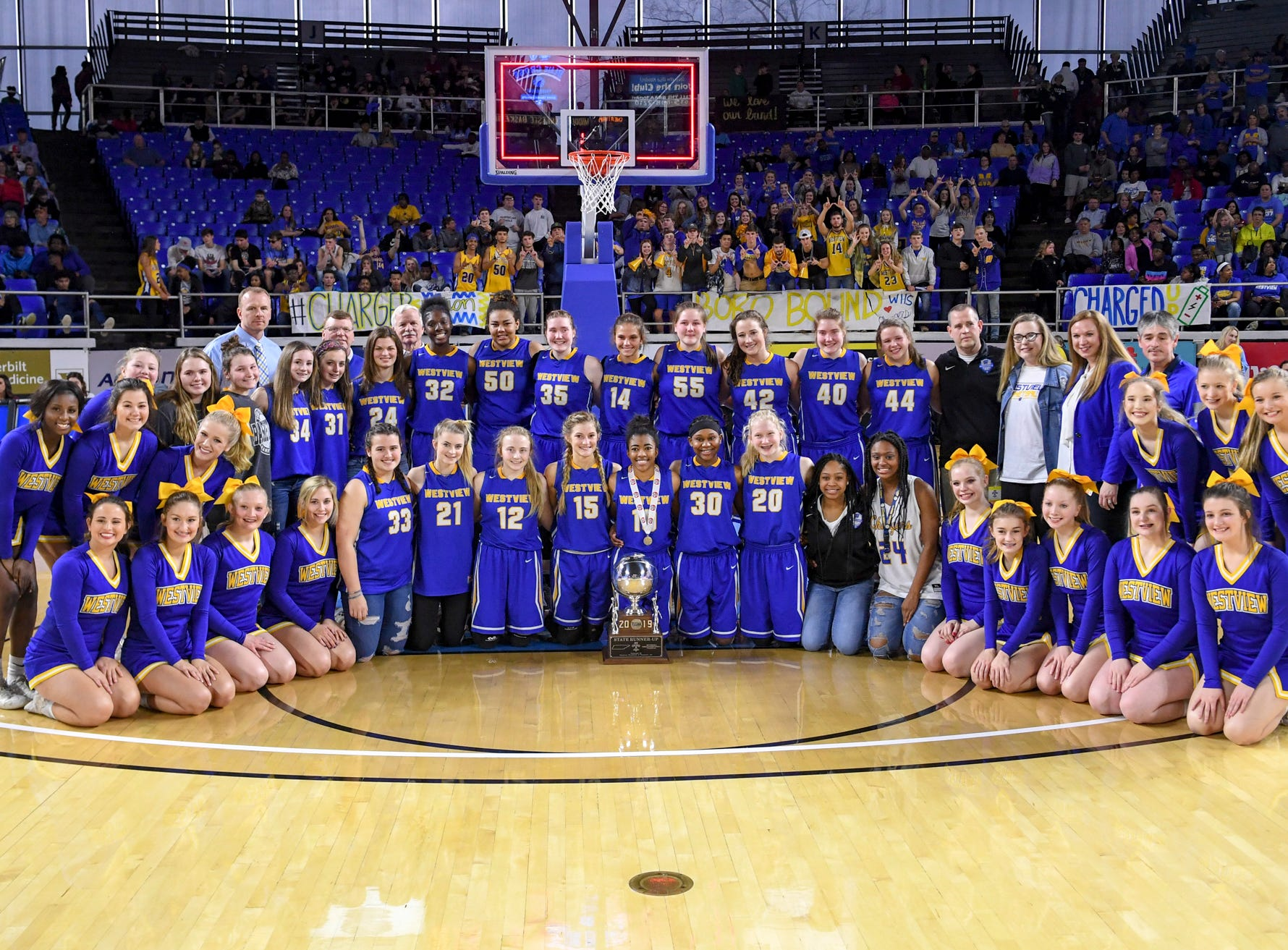The Lady Chargers of Westview High School fell to Cheatham County, 43-30 in Class AA championship game, Saturday, March 9, 2019, in Murfreesboro. Westview ended their season 31-6.
