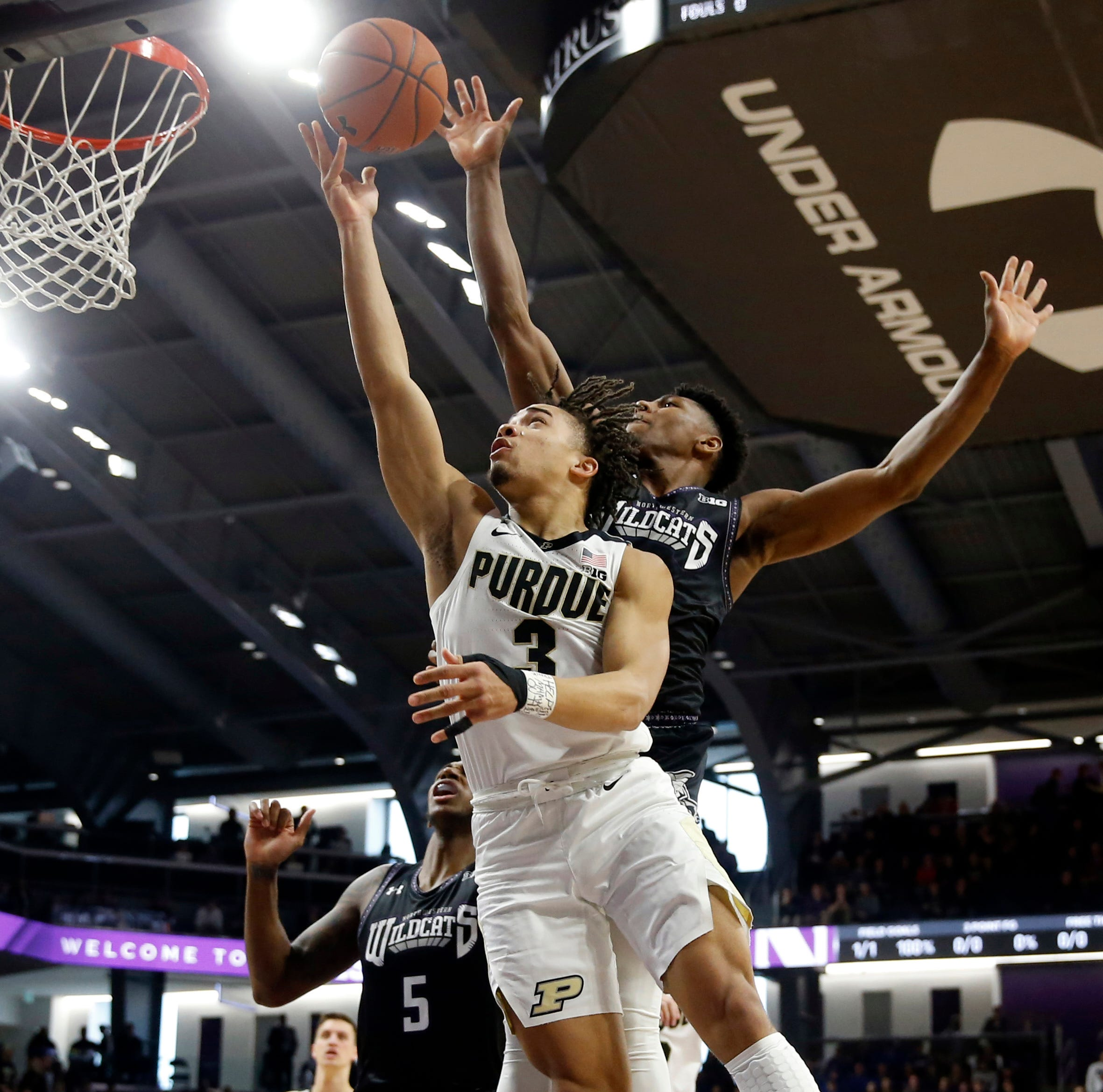 Purdue basketball beats Northwestern to lock up share of Big Ten championship