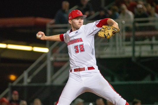 UL's Brandon Young threw four no-hit innings in a win Friday night over Loyola Marymount.