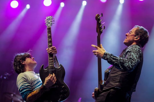 Weezer (pictured) and The Pixies stop at FedExForum on Friday night.