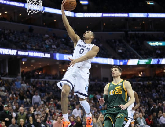 Avery Bradley averaged 16.1 points in 14 games with Memphis last season.