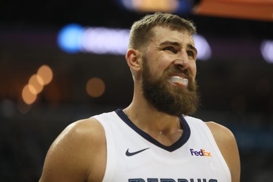 Grizzlies center Jonas Valanciunas is averaging 18.5 points per game since being traded.