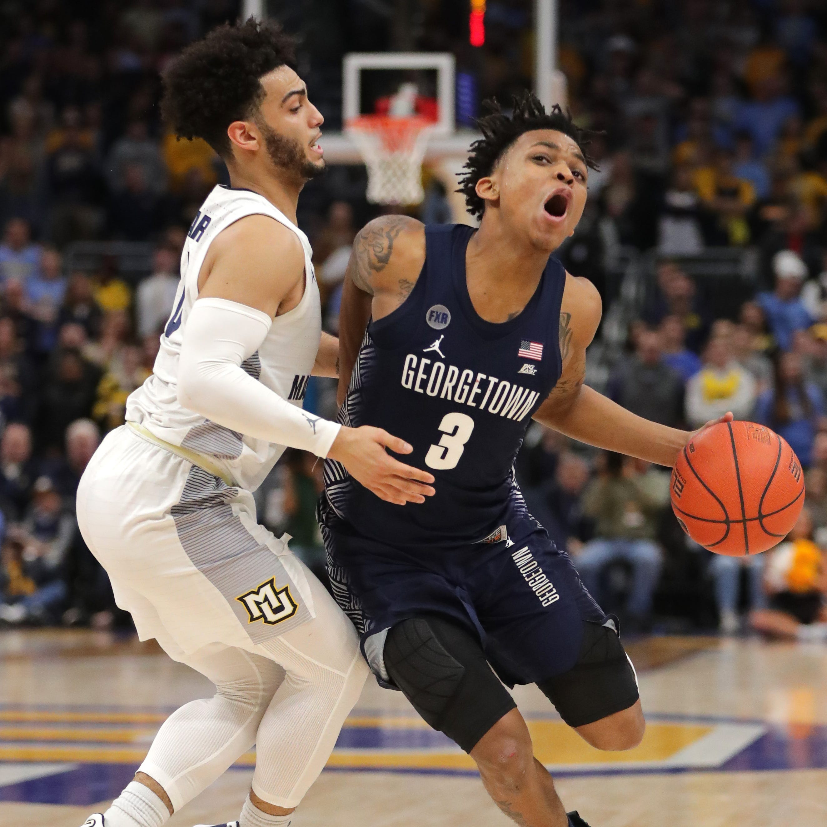 Georgetown 86, Marquette 84: The regular season ends with a troubling four-game skid