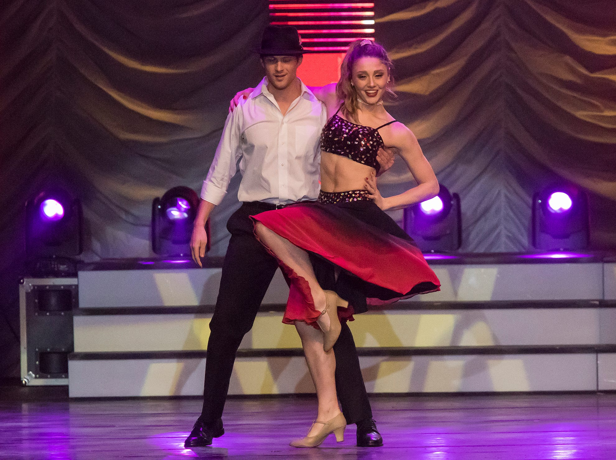 Louisiana Delta Ballet held their annual Dancing with the Louisiana Stars at the Monroe Civic Center in Monroe, La. on March 8. Nick Harrison won the choreography award, Luke Letlow won the People's Choice award, B. Jay Durrett placed third, Hope Anderson placed second and Aimee Hayward won the competition with first place