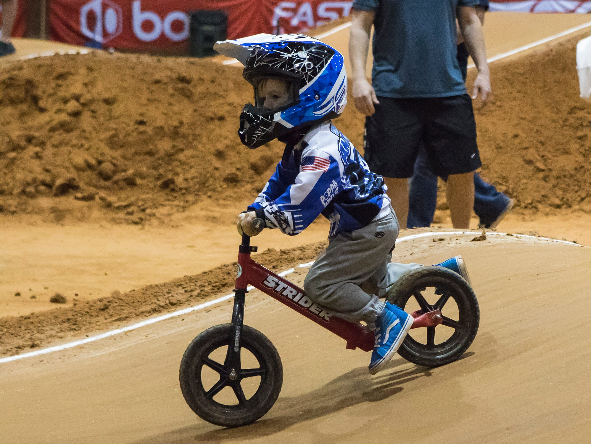 USA BMX came to the Ike Hamilton Expo Center in West Monroe, La. for the Cajun Nationals on March 9.