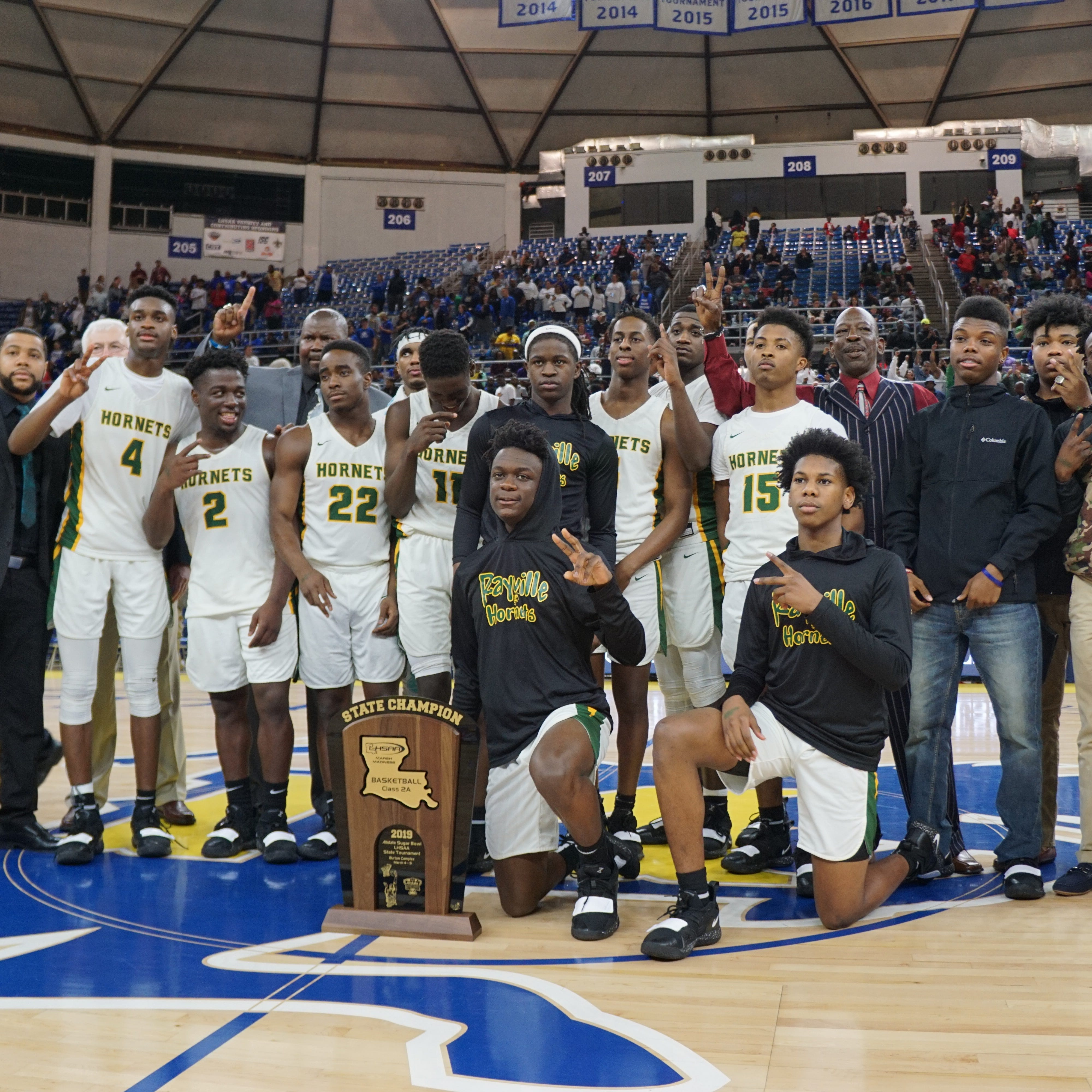 Rayville displays versatility en route to another 2A hoops title